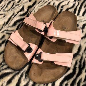 Women's Birkenstock Birki's Pink Sandals